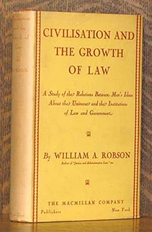 CIVILISATION AND THE GROWTH OF LAW