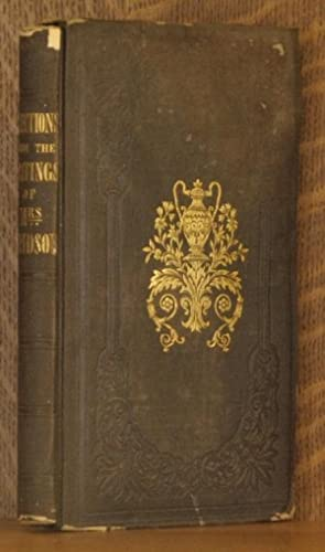 SELECTIONS FROM THE WRITINGS OF MRS. MARGARET M. DAVIDSON: Margaret M. Davidson, with preface by ...