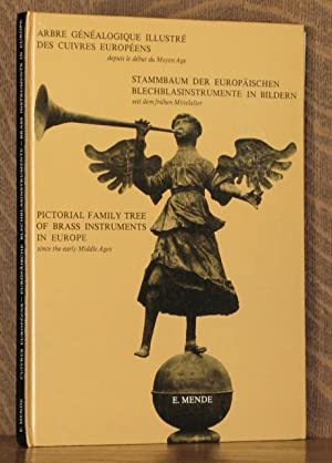 Pictorial family tree of brass instruments in Europe since the early Middle Ages; Arbre ...