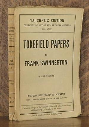 TOKEFIELD PAPERS: Frank Swinnerton