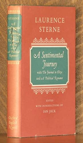 A SENTIMENTAL JOURNEY THROUGH FRANCE AND ITALY BY MR. YORICK: Laurence Sterne