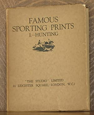 FAMOUS SPORTING PRINTS VOL. 1- HUNTING
