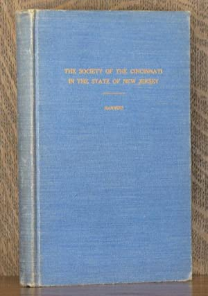 THE SOCIETY OF THE CINCINNATI IN THE STATE OF NEW JERSEY