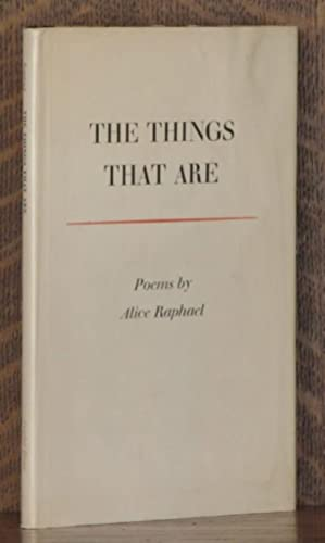 The things that are: Raphael, Alice Pearl