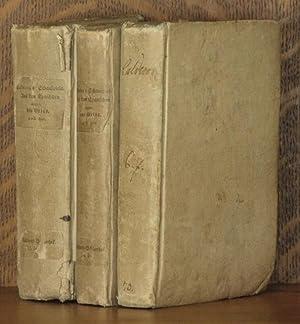 SCHAUSPIELE (7 volumes bound in three, complete): Pedro Calderon de la Barca, translated by J. D. ...