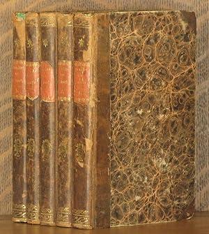 GEMAHLDE AUS DEM HAUSLICHEN SAMMLUNG LEBEN UND ERZAHLUNGEN (5 VOLUMES, COMPLETE): Gotthelf Wilhelm ...
