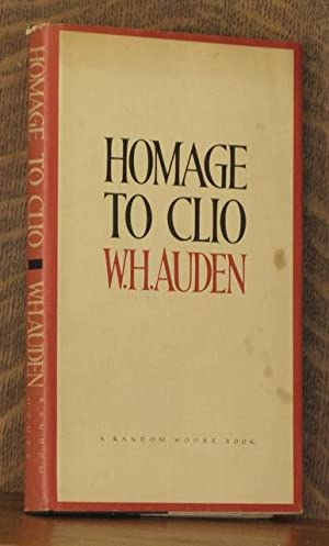 HOMAGE TO CLIO: W. H. Auden