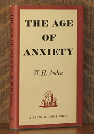 THE AGE OF ANXIETY: W. H. Auden