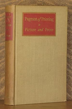 PAGEANT OF PRINTING IN PICTURE AND PROSE: Robert Williams