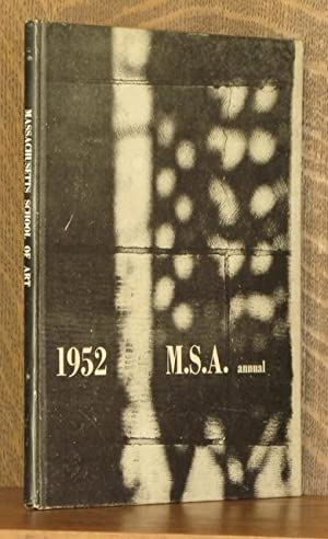 MASSACHUSETTS SCHOOL OF ART ANNUAL (YEARBOOK) 1952: Edited by Joseph Glover & Larry Webster