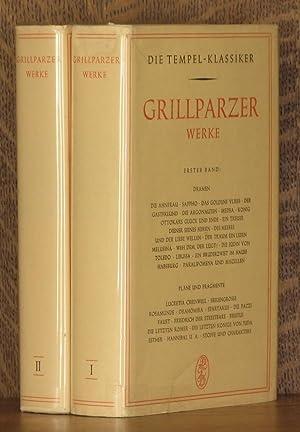 GRILLPARZER WERKE ~ Erster & Zweieter bands, (2 volumes, complete): Franz Grillparzer