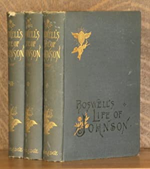 THE LIFE OF SAMUEL JOHNSON INCLUDING A JOURNAL OF A TOUR TO THE HEBRIDES (3 VOL SET - COMPLETE): ...