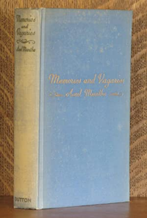 MEMORIES AND VAGARIES: Axel Munthe
