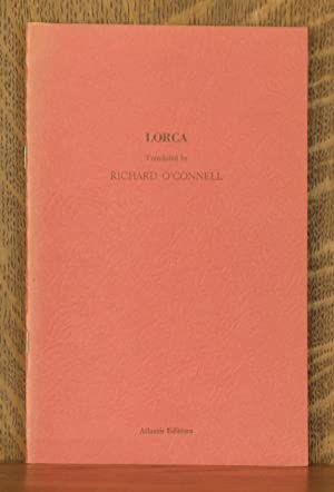 LORCA: translated by Richard O'Connell
