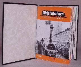 MINIATURBAHNEN, Die Fuhrende Deutsche Modellbahnzeitschrift, 1961 (Vol. 13, Nos. 1-16) & 1962 (...
