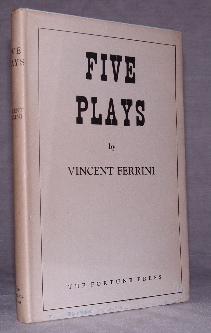 Five Plays: Ferrini, Vincent