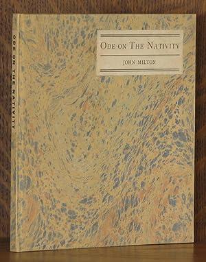ODE ON THE NATIVITY: John Milton