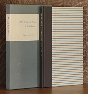 ON READING: Marcel Proust, translated and edited by Jean Autret and William Burford