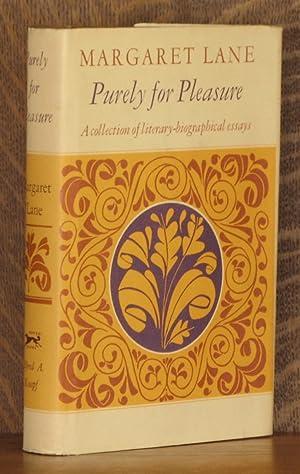 PURELY FOR PLEASURE: Margaret Lane
