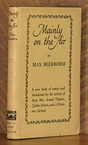 MAINLY ON THE AIR: Max Beerbohm