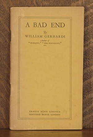 A BAD END: William Gerhardi