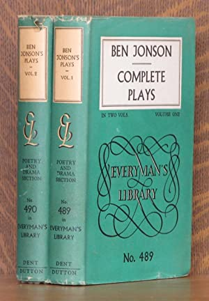 PLAYS IN TWO VOLUMES, introduction by Felix Schelling.: Ben Jonson, introduction by Felix Schelling...