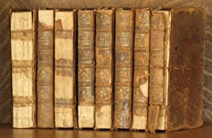 THEATRE COMPLET DE M. DE VOLTAIRE (VOLS 1, 4, 5, 7, 8, 9, 10, 11 ONLY- INCOMPLETE SET): Voltaire