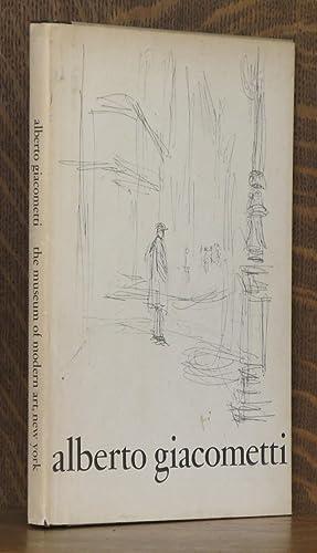 ALBERTO GIACOMETTI: alberto giacometti, intro by Peter Selz