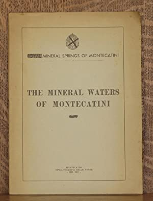 THE MINERAL WATERS OF MONTECATINI: C. Frugoni