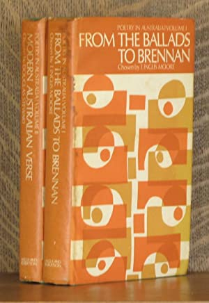 POETRY IN AUSTRALIA, FROM THE BALLADS TO BRENNAN, and MODERN AUSTRALIAN VERSE (2 VOL - COMPLETE SET...