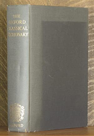 THE OXFORD CLASSICAL DICTIONARY: dited by M.