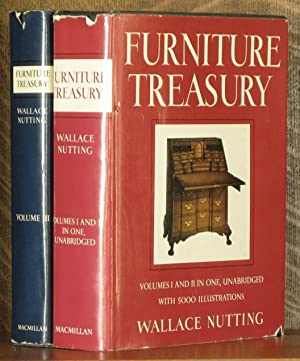 FURNITURE TREASURY (3 VOL SET - COMPLETE): Wallace Nutting