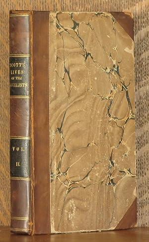 LIVES OF THE NOVELISTS (VOL 2 - INCOMPLETE SET): Walter Scott