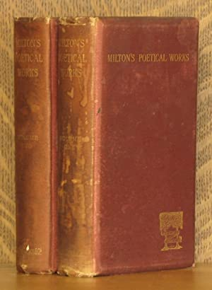 THE POETICAL WORKS OF JOHN MILTON (2 VOL SET - COMPLETE): John Milton