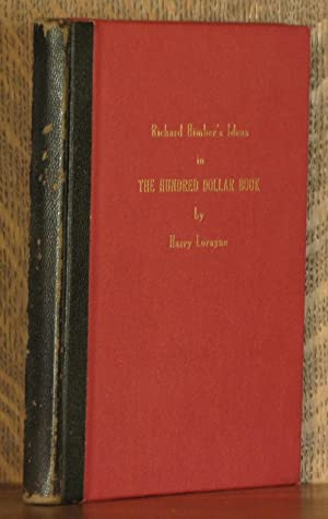 RICHARD HIMBER'S IDEAS IN THE $100.00 BOOK: Harry Lorayne and Richard Himber