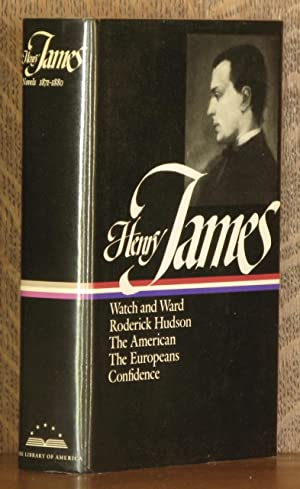 NOVELS 1871 - 1880, WATCH AND WARD,: Henry James