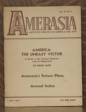 AMERASIA VOL XI, NO. 7 JULY 1947: Philip Jaffe, et al