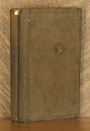 A MANUAL OF DYEING WITH THE DYESTUFFS OF THE CASSELLA COLOR COMPANY NEW YORK; VOLUME I. COTTON AND ...