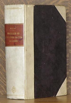 DIARIO 1858-60 SULL'AZIONE POLITICA DI CAVOUR: Giuseppe Massari, preface by Giovanni Beltrani