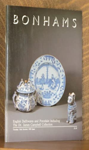 ENGLISH DELFTWARES AND PORCELAIN INCLUDING THE DR.: anonymous