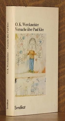 Versuche Uber Paul Klee: O. K. [Otto