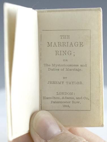 The Marriage Ring; or The Mysteriousness and Duties of Marriage: Taylor, Jeremy