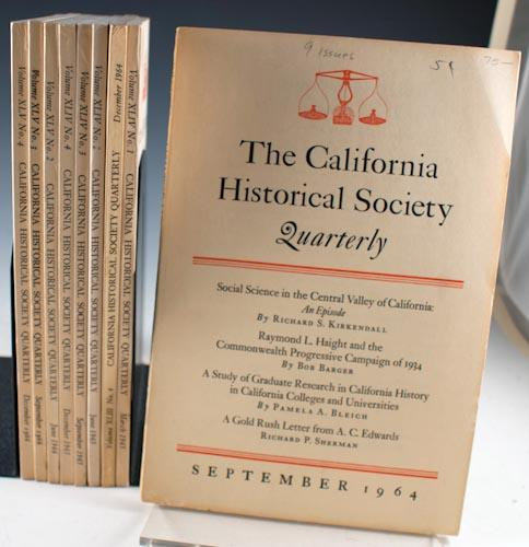 The California Historical Society Quarterly