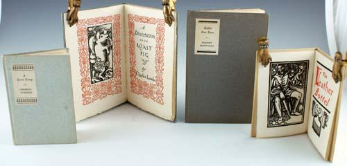 Rabbi Ben Ezra, by Robert Browning; A Dissertation Upon a Roast Pig, by Charles Lamb; A Love Song, ...