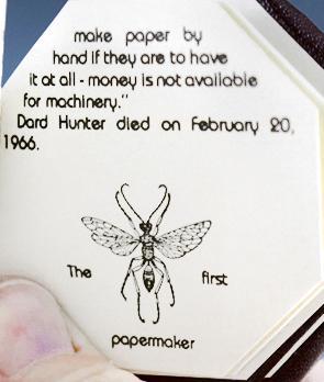 Master Papermakers: Dard Hunter and Harrison Elliott: Massmann, Robert E.