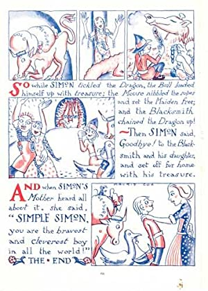 Simple Simon and the Dragon. Together with typed letter, signed: Cox, Morris