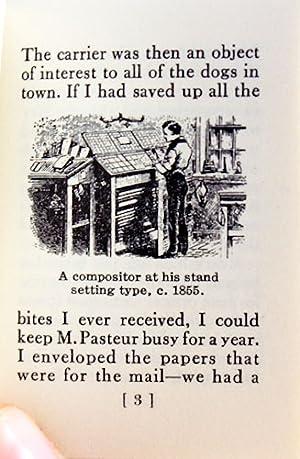The Old-time Printer: Twain, Mark