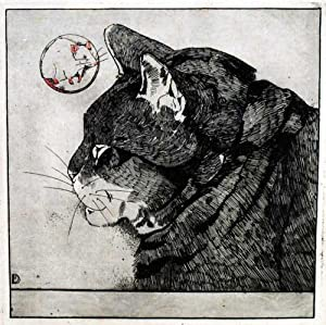 Cat's Head in Profile to Left