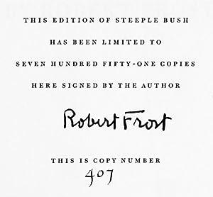 Steeple Bush: Frost, Robert
