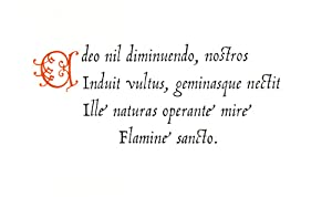 In Die Festo Natalis, Et Circuncisionis Christi, Sapphicum Alphabeticum: Ferrerius, Zacharias